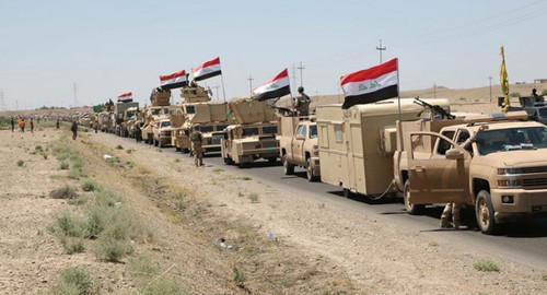 Heavy Fighting Raged After Iraqi Troops Offensive against ISIS in the South of Mosul